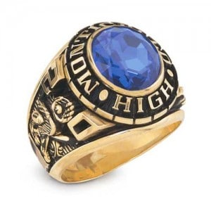 14k gold class ring