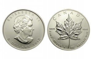 1oz Silver Maple Leaf