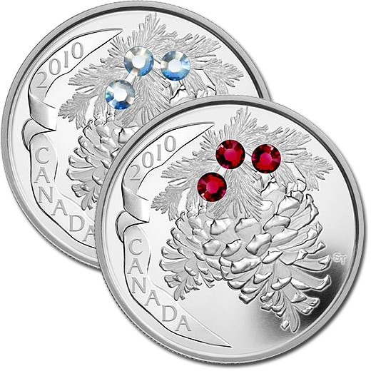 A special edition collectors silver coin from the royal canadian mint
