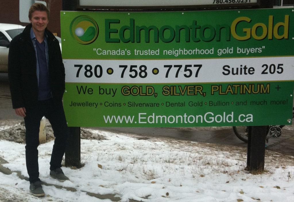 cash for gold Edmonton