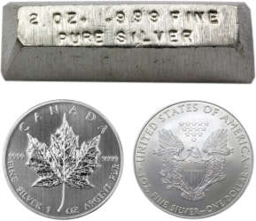 where to buy silver in Canada