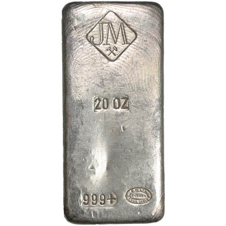 Johnson Matthey silver bar