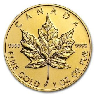 new royal canadian mint gold maple leaf coin