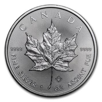 royal canadian mint silver maple leaf coin