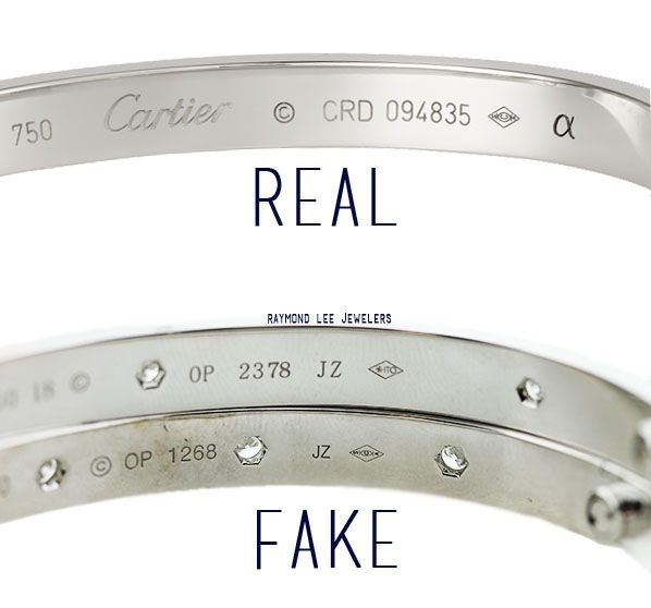 how to spot fake cartier jewellery