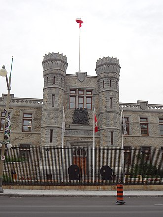 royal canadian mint building in ottawa where canadian coins are produced